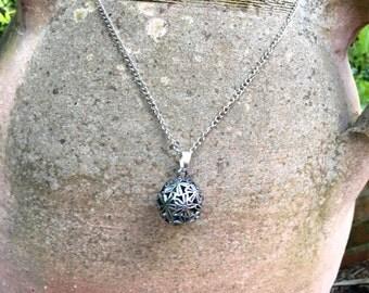 Moroccan ball pendant necklace