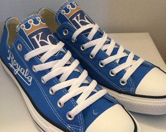Kansas City Royals converses tennis shoes