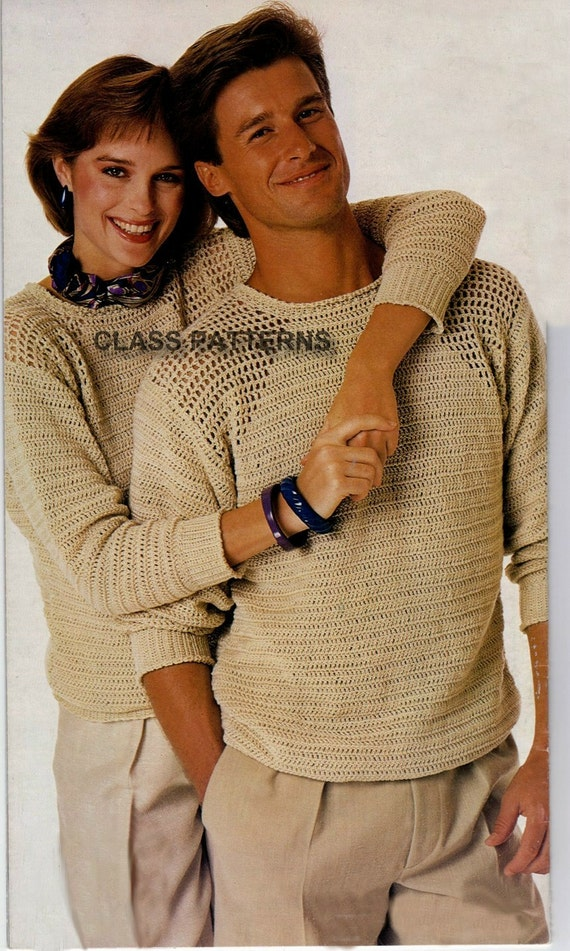 Crochet Sweater Patterns For Men - Sweater Vest