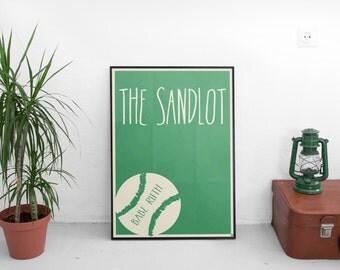 The Sandlot Movie Poster, Baseball Movie