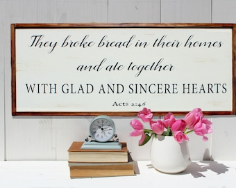 "Shop ""custom wooden signs"" in Spirituality & Religion"