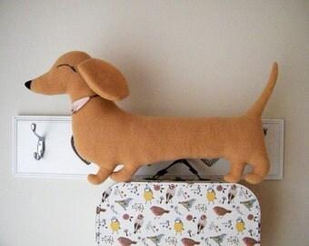 Sausage dog shaped cushion (Free shipping within the UK)
