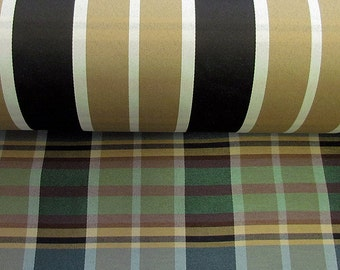 Katie K Collection Heavy Woven Plaid Upholstery Fabric by the Yard