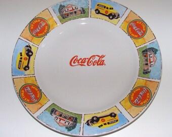 Unique Coca Cola Plates Related Items Etsy
