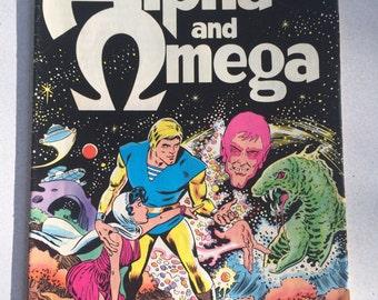Alpha and Omega Spire Christian Comic Book