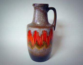 West germany Seventies Fat Lava Scheurich vase 404-26