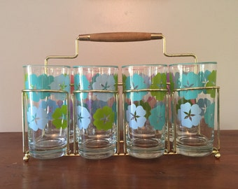 Retro flower glasses
