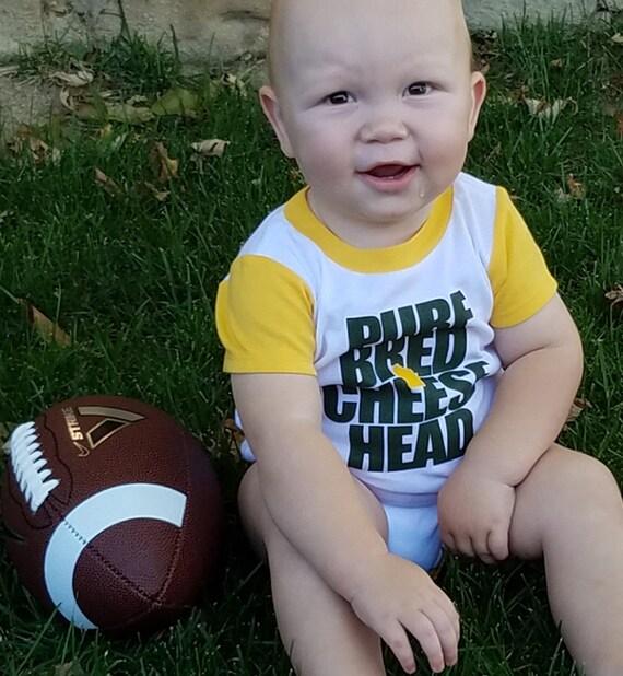 cheesehead bodysuit infant shirt baby newborn ts for babies