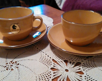 Rossler Pottery Cups