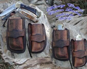 Cowboy sheath, Cowboy knife sheath, Buffalo knife sheath