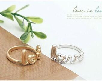 Kawaii Love Ring