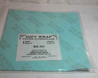 Bridal Shower Gift Wrap Baby Shower Wrapping Paper Made in Italy Wedding