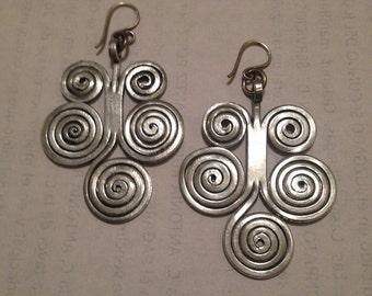 earrings aluminum tree