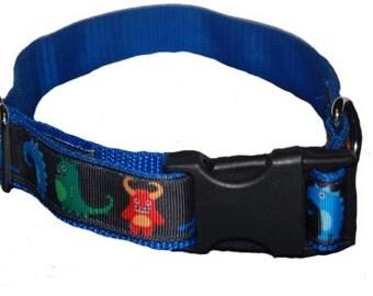 monster dog collar