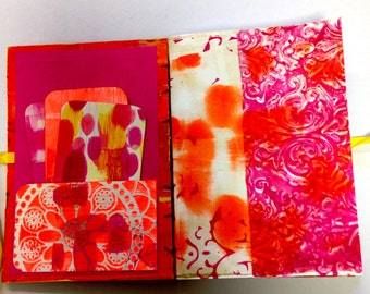 Journal, smash book, diary or sketch book