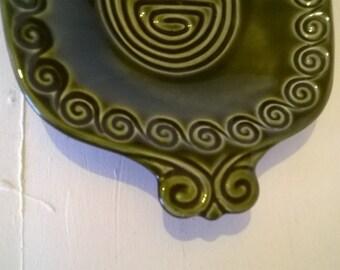 "SylvaC ""Totem"" rectangular sandwich plate - olive green"