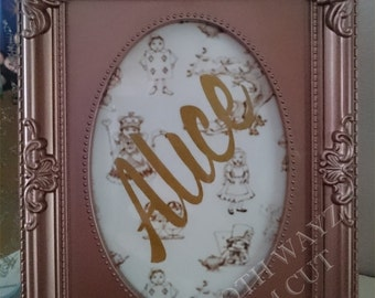 Alice in wonderland -Wedding Table Stand - wedding reception - reception decor - themed Wedding - wedding table numbers - fairytale