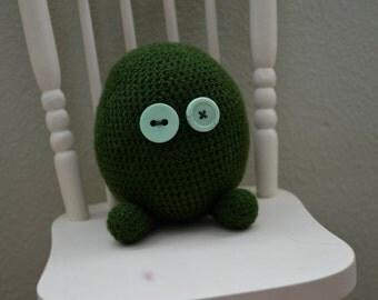 Crochet Monster Green