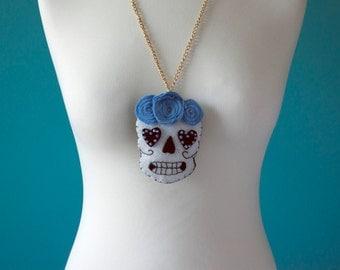 DIA de los muertos necklaces