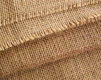 100% Natural and Eco-Friendly Jute Burlap Hessian Fabric 20'' wide sold by meter