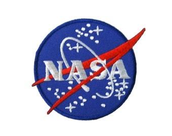 NASA Logo DIY Applique Iron on Patch