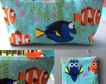Finding Dory Make Up Bag or Coin Purse