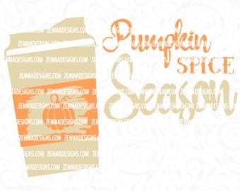 pumpkin spice svg - fall svg files - pumpkin svg - svg files sayings - Thanksgiving svg - svg files  -cutting file - pumpkin clipart