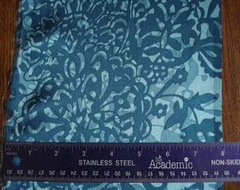 100% Silk Charmeuse Prints - Overlay Teal