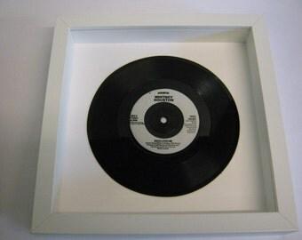 """Whitney Houston - """"Jesus Loves Me"""" - Framed Record"""