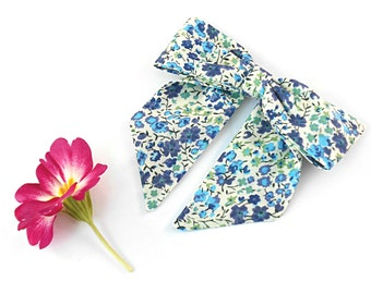 Liberty Print 'Phoebe' Bow Hair Clip