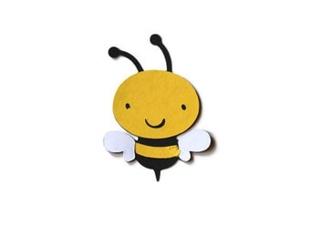 Bee Die Cut, Bee Decoration, Bee Birthday, Bee Baby Shower, Bumble Bee Decoration, Bee Die Cuts, Shower Decortaions, Bee Cutouts