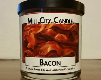 Bacon - Soy Wax Candle with Cotton Wick