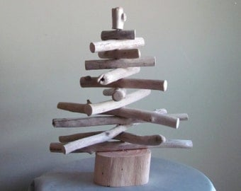 In Stock - Small Driftwood Christmas Tree, Driftwood Holiday Decor, Driftwood Tree, Coastal Christmas, Driftwood Christmas Decoration