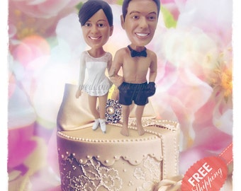 Boxing cake toppers Skating cake toppers Personalised cake topper Unique wedding cake toppers Funny wedding cake toppers Custom cake topper