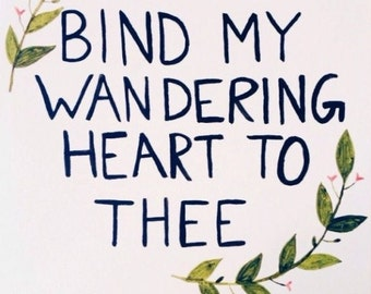 Wandering Heart- Canvas Art