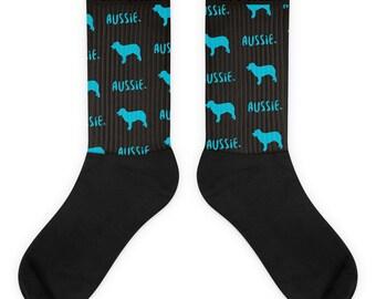 Australian Shepherd Socks