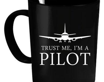 Pilot gift mug