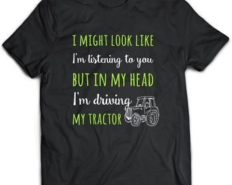 Tractor T-Shirt. Tractor tee present. Tractor tshirt gift idea. - Proudly Made in the USA!