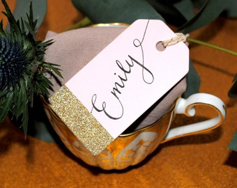 Calligraphy - place card