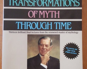 Joseph Campbell Transformations of Myth Through Time paperback book 1990