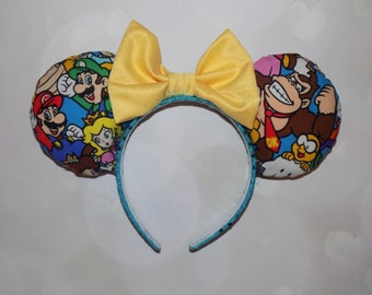 Mario brothers inspired ears