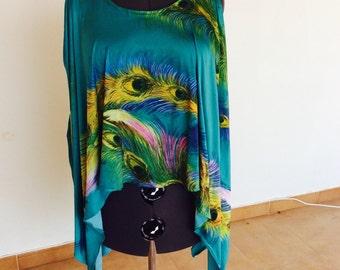 Ibizastyle tunic, large size