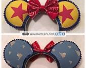 Red Star - Handmade Ears