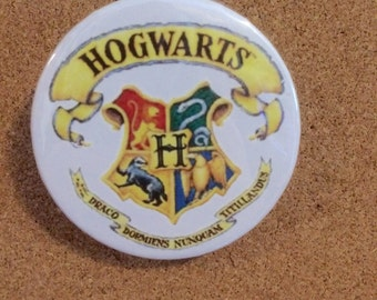 2.25 in. Harry Potter Hogwarts pinback button
