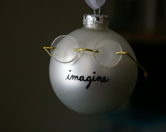 John Lennon Ornament (patented)
