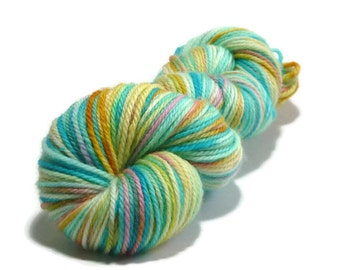 Island Life - Trellis DK - 100% Australian Wool, Superwash, 8ply - handdyed yarn. 100grams/190metres. Ready to Ship