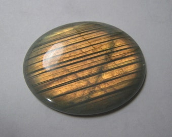 Natural labradorite cabochon Oval shape loose semi precious gemstone cabochon size 31 x 41 mm approx code 2168 Wholesale Gemstone