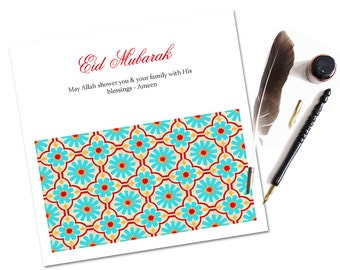 Marrakesh Eid Card, Eid Greeting Cards, Islamic Cards