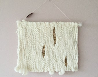 Woven wallhanging