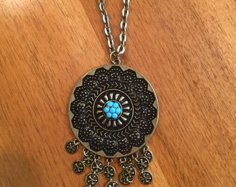 Boho style long  necklace